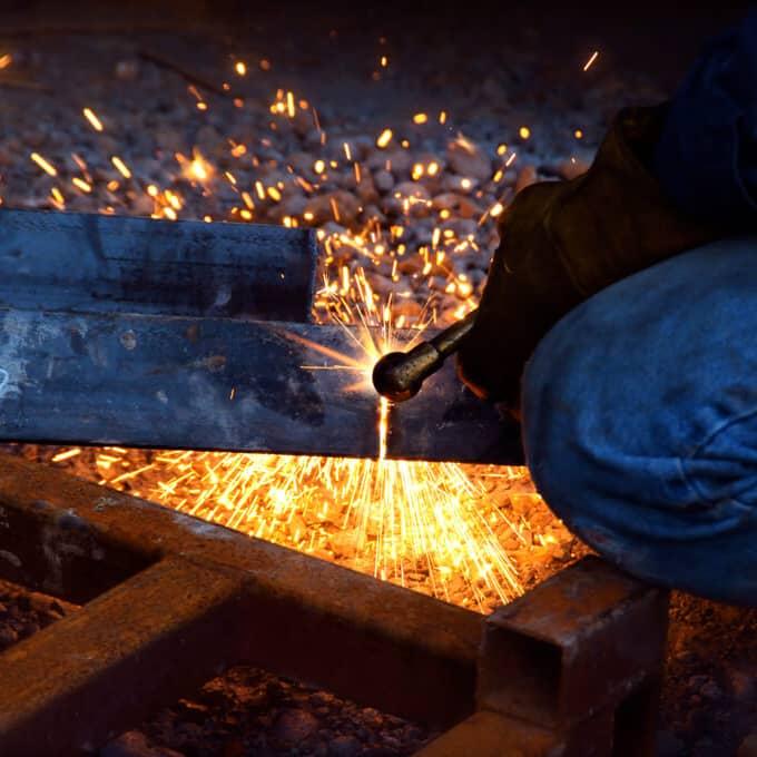 Soldas em Aço